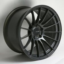 18x11 Enkei RS05-RR 5x114.3 +16 Gunmetal Wheels (Set of 4)