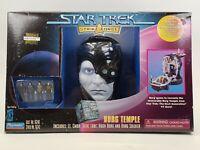 1997 Playmates Star Trek Strike Force Borg Temple Play Set Data Lore Hugh TNG NG
