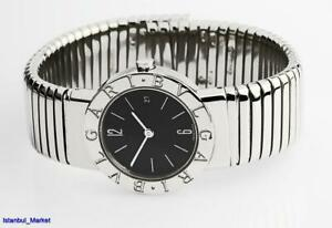 Bvlgari Tubogas Ref BB 26 2TS Ladies Stainless Steel Wristwatch