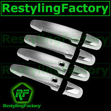 14-15 Chevy Impala Triple Chrome plated 4 Door Handle Cover Set w/Smart Hole