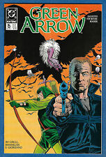 GREEN ARROW # 15  - DC 1989  (vf)  Dinah Lance