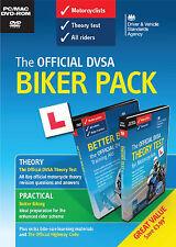 Official DSA Motorcycle / Motorbike - Theory /Practical Biker Pack DVD-ROM + DVD
