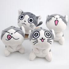Cute Cat Plush Doll Toys Stuffed Animal Bolster Key chain Keyring funny lovely