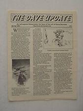 Fanzine THE DAVE DORMAN UPDATE #11 - Spring 1998
