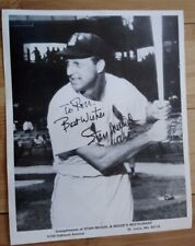"Stan Musial Signed Photo, 8"" x 10"", Signed ca. 1980, MLB St. Louis Cardinals"