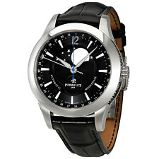 Perrelet Moonphase Automatic Black Dial Mens Watch A1039/7