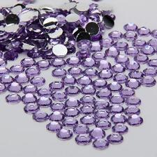 2000 Crystal Flat Back Rhinestones Gems Diamante Bead Nail Art Crafts 2 3 4 5 mm