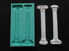 Silicone Mould ANCIENT COLUMN Sugarcraft Cake Decorating Fondant / fimo mold