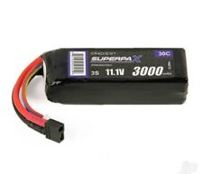 Radient 3S 30C 11.1V 3000mAh Compact LiPo Battery Pack Deans  Plug UK Model shop