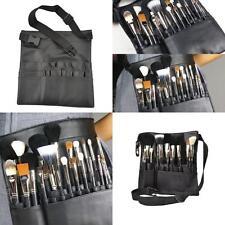 Newly Makeup Brush Bag Professional Design Black Holder Artist Waist Belt Strap