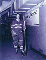 Jean Beliveau Montreal Canadiens Autographed Signed 8x10 Photo (B)