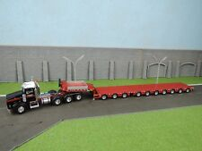 WSI Mammoet Kenworth T800 8X4 + Broshuis 7 axle Trailer + 3 axle Dolly 1:50 NEW