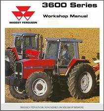 Massey Ferguson 3600 Series ( 3615 3625 3635 3645 ) Tractor Service Manual on CD