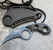 BLACK TACTICAL COMBAT SURVIVAL BOOT/NECK KNIFE -1794