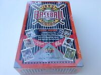 1992 Upper Deck MLB Baseball Cards HIGH SERIES Factory Sealed BOX