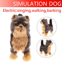 Simulation Toy Dog Realistic Yorkie Dog Puppy Lifelike Stuffed Companion Toy Hn