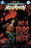 Aquaman #20 Rebirth Comic 1st Print 2016 New NM ships in T-Folder
