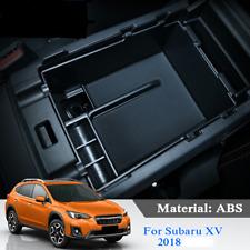 For Subaru XV 2018 Car Center Console Armrest Storage Organizer Glove Tray Box