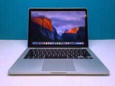 "Apple MacBook Pro 13"" Retina BUNDLE / 3YR Warranty / 256GB+ 2014-2015! OS-2018"