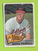 1965 Topps - Boog Powell (#560)  Baltimore Orioles
