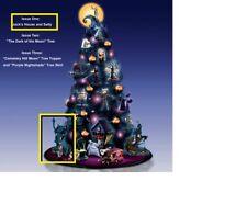 Nightmare Before Christmas JACK & SALLY HOUSE Hawthorne Halloween Tabletop Tree