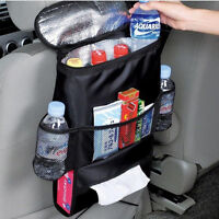 Siège de voiture, sac de rangement à poches multiples, range-tout, organisaIHS