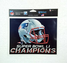 Official Wincraft NEW ENGLAND PATRIOTS Decal Sticker Superbowl LI 51 2017 NFL !