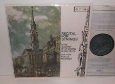 SOL 276 Telemann Gabrielli Vivaldi Handel Recital For Strings ASMF Marriner