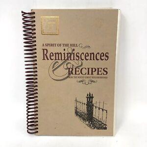 1990s Cookbook A Spirit of the Hill ... The Ninth Street Neighborhood Recipes