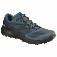Salomon Sense Ride 2 406739 Stormy Weather/Ebony/Black Mens Hiking Hiker Shoes