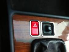 D mercedes w208 CLK cromo marco para conductos de calefacción mediados-acero inoxidable pulido
