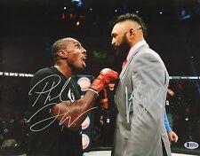 Liam McGeary & Phil Davis Signed 11x14 Photo BAS Beckett COA Bellator MMA Auto'd