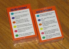 Trivial Pursuit Junior Jr 4th Edition Game Parts Kids Trivia - New Sealed Cards