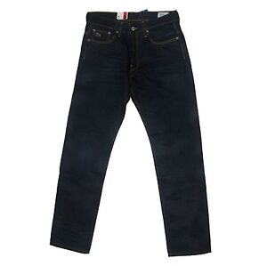 G-star Mens  3301 Straight Jeans Lexicon Denim Indigo Aged Size 31, 32