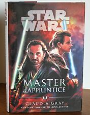 STARS WARS - MASTER & APPRENTICE - CLAUDIA GRAY - HARDCOVER BOOK - 1st EDITION