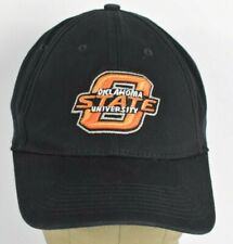 39bd0102 Black Oklahoma State University Logo OSU Embroidered Baseball hat cap Fitted