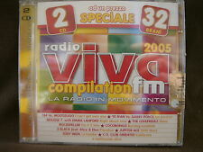 RADIO VIVA fm COMPILATION 2005 NEW NUOVO SIGILLATO 2 CD