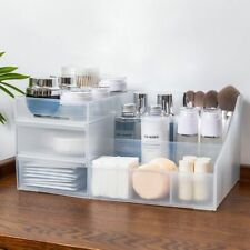 Makeup Organizer Plastic Portable Drawer Cosmetics Racks Stationary Container