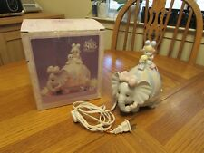 Enesco Precious Moments 'Let's Keep In Touch' CLOWN & ELEPHANT night light