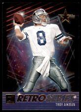 2021 Donruss Retro Series #10 Troy Aikman - Dallas Cowboys