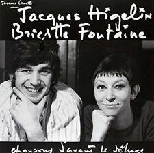 JACQUES HIGELIN/BRIGITTE FONTAINE - CHANSONS D'AVANT LE DELUGE   VINYL LP NEW+