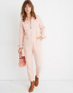 Madewell Zip-Front Coverall Jumpsuit