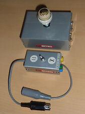 LOT ancien interrupteur TEKO boitier fiche BOX appareil photo VINTAGE deltron