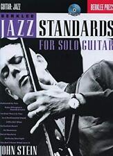 John Stein: Berklee Jazz Standards For Solo Guitar (Hal Leonard) by John Stein |