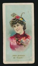 1889 N73 Duke's Cigarettes FANCY DRESS BALL COSTUMES -Daisy Murdock (Cupid)