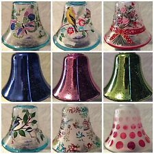 Glass Candle Jar Shades - Various designs (fit Village Candle and Yankee jars)