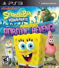 SpongeBob SquarePants:Plankton''s Robotic Rev PS3 New PlayStation 3, Playstation