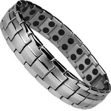 ENERGY POWER TITANIUM BRACELET SCALAR QUANTUM W STRONG MAGNETS ANTI EMF THERAPY