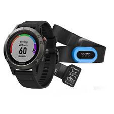 Garmin fenix 5  Multisport GPS Fitness Watch Slate Gray with Black Band Bundle