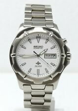 Orologio Seiko kinetic watch stainless steel clock seiko horloge man 41 mm reloy